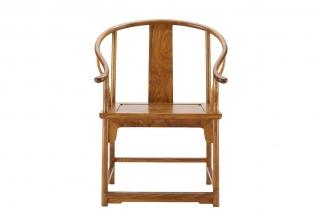 实木万博手机网页红木圈椅