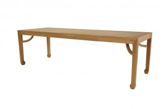 别墅会所家具图片实木红木餐桌