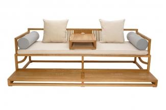 高端实木家具红木罗汉床