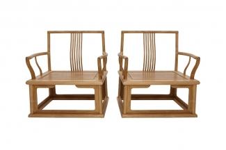 别墅客厅红木家具休闲椅