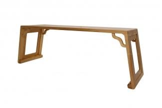 别墅会所实木家具红木长茶桌
