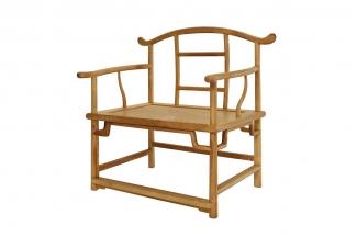 别墅会所实木家具红木四头官帽椅
