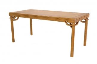 实木家具红木裹腿罗锅枨茶桌
