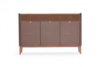 高端时尚现代板木装饰柜