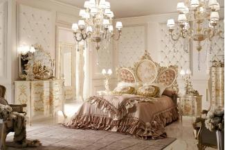 Andrea Fanfani 高档时尚法式雕刻双人床组合