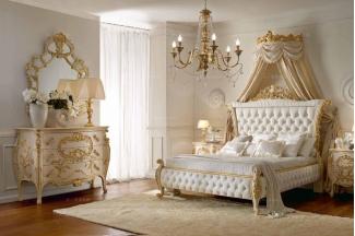 Andrea Fanfani 高端时尚法式雕花卧房组合