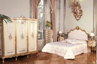 Andrea Fanfani 高端时尚法式双人床组合