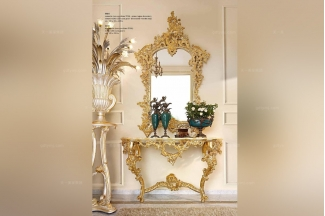 Andrea Fanfani高端欧式雕刻玄关台/玄关镜