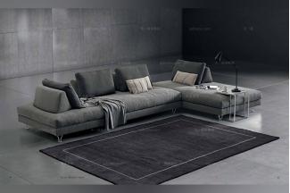 Dema高端时尚现代多功能布艺沙发