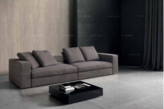 Dema高档时尚简约现代三位沙发