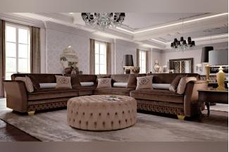 Carpanese新古典客厅组合灰色系列