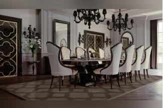 Carpanese新古典米色餐厅系列
