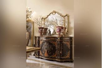Andrea Fanfani高端时尚法式彩绘装饰柜
