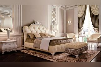 Carpanese新古典卧室雕花布艺系列