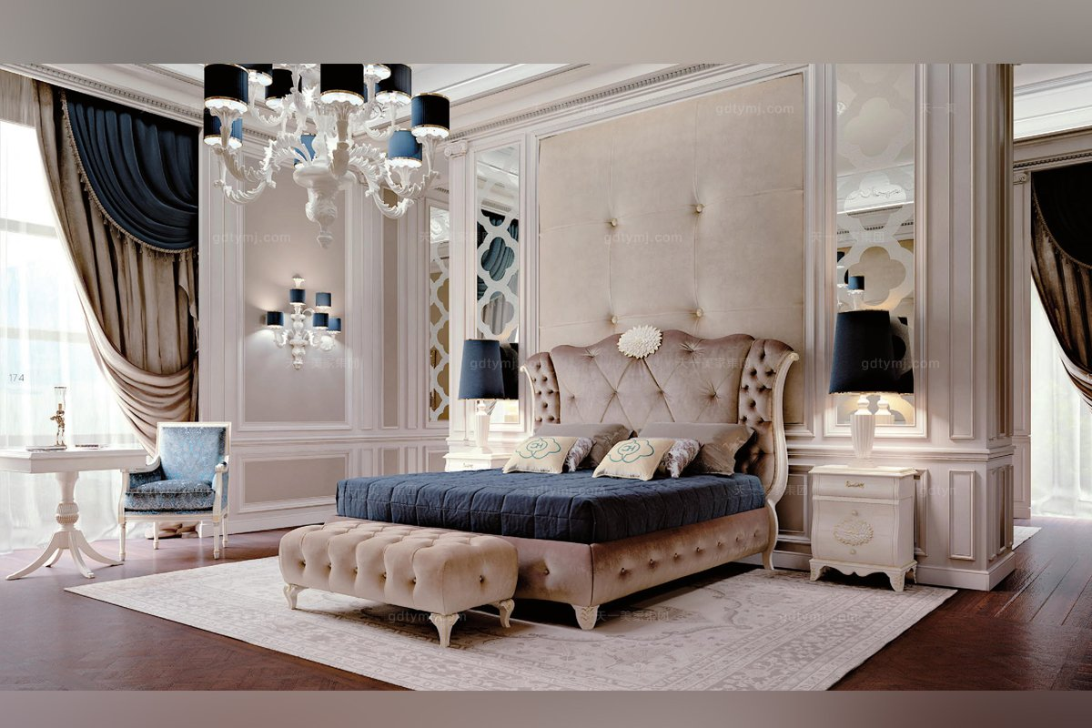 Carpanese新古典卧室布艺系列