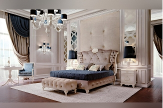 Carpanese新古典寝室布艺系列