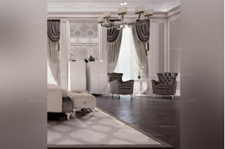 Carpanese新古典卧室白色斗柜