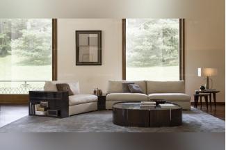 Daytona后现代客厅布艺沙发系列
