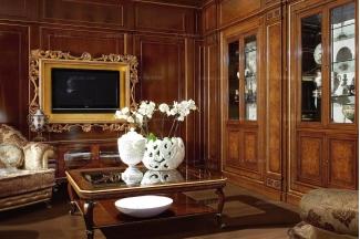 Grilli奢华新古典雕花客厅系列