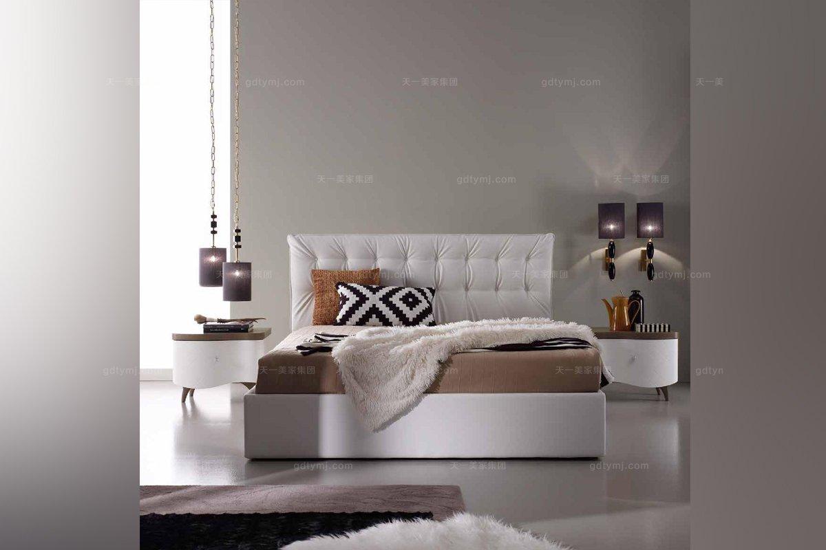 SIGNORINI&COCO现代白色大床