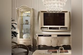 SIGNORINI&COCO欧式米白色电视柜组合