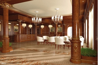 Grilli奢华新古典白色休闲区
