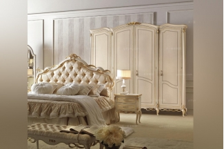SIGNORINI&COCO简约新古典白色卧室系列