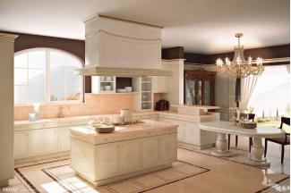 Grilli奢华新古典开放式厨房