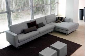 Dema 高端时尚简约现代灰色转角沙发