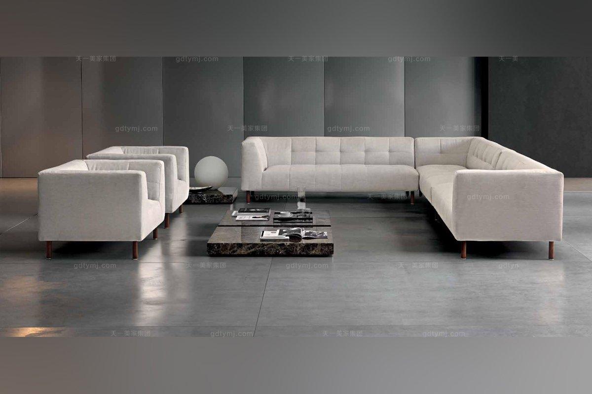 Dema高端时尚简约现代客厅转角沙发