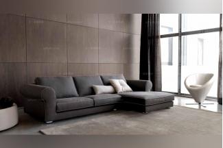 Dema 高端品牌简约现代深色转角沙发
