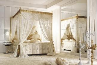 Grilli奢华新古典实木雕花卧室系列