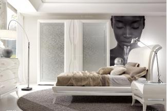 Grilli奢华新古典实木软床卧室系列