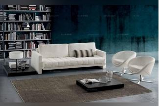 Dema高端时尚简约现代白色沙发