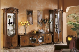 Grilli奢华新古典露木色客厅系列