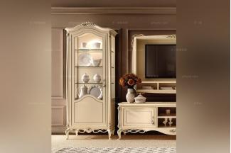 SIGNORINI&COCO新古典原木色装饰柜