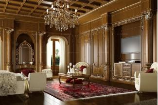 Grilli奢华新古典实木卧室系列