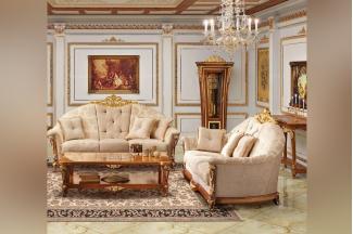 SIGNORINI&COCO欧式花纹布艺沙发