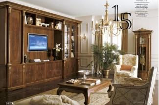 Grilli奢华新古典实木万博手机网页布艺客厅系列