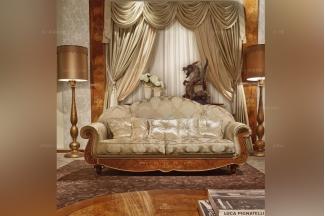 SIGNORINI&COCO欧式高端布艺二人位沙发