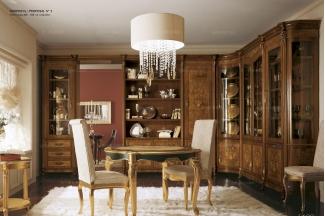 Grilli奢华新古典实木雕花餐厅系列