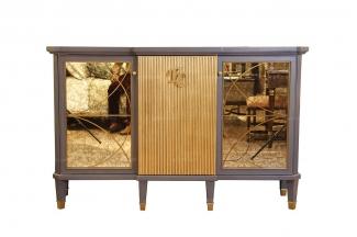 高端時尚現代新古典酒店會所家居裝飾柜