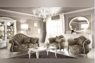 SIGNORINI&COCO欧式布艺单人位沙发