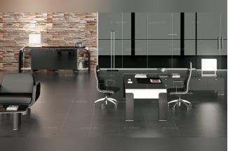 Codutti办公万博手机网页黑色办公区