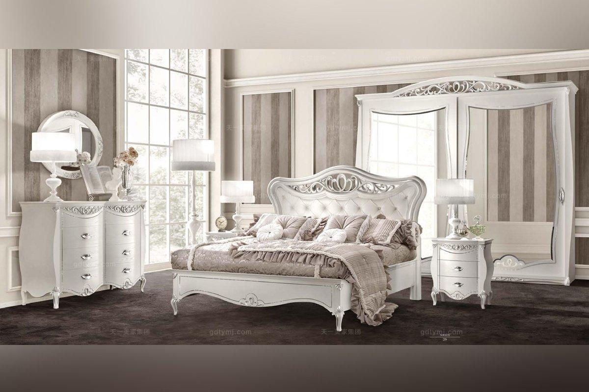 SIGNORINI&COCO欧式白色卧室系列