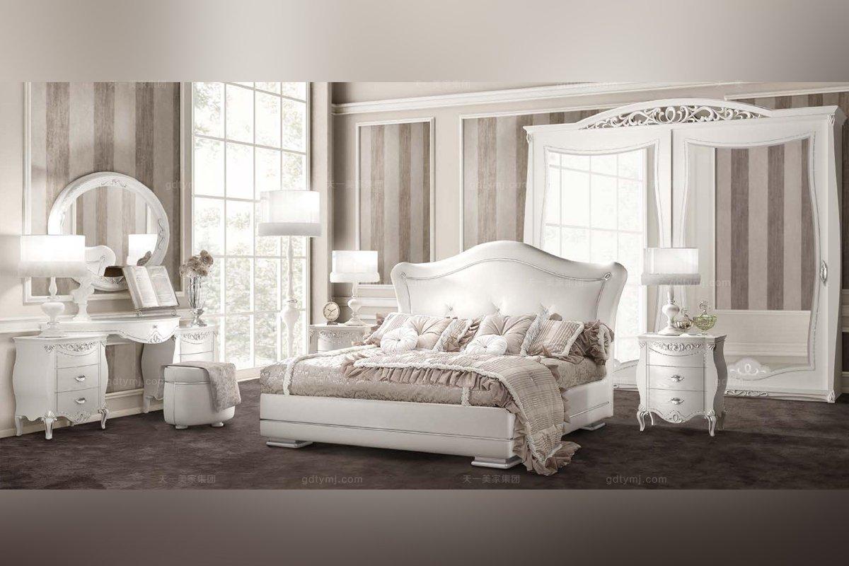 SIGNORINI&COCO欧式白色卧室家具