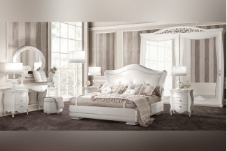 SIGNORINI&COCO欧式白色卧室万博手机网页