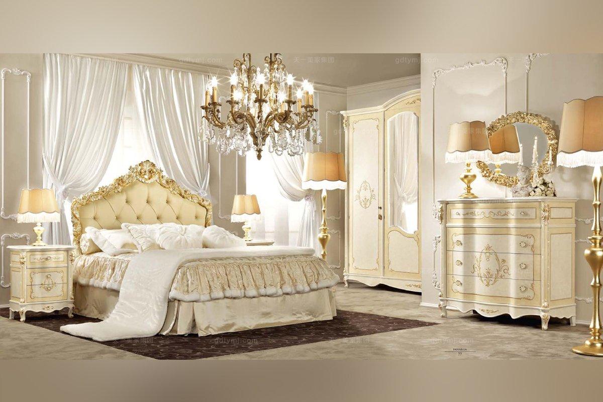 意大利万博手机网页SIGNORINI&COCO欧式实木卧室系列