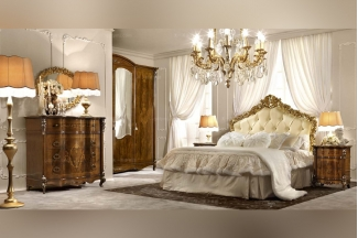 酒店套房万博手机网页SIGNORINI&COCO新古典风卧室万博手机网页