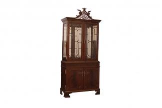 高端品牌时尚现代新古典双门装饰柜